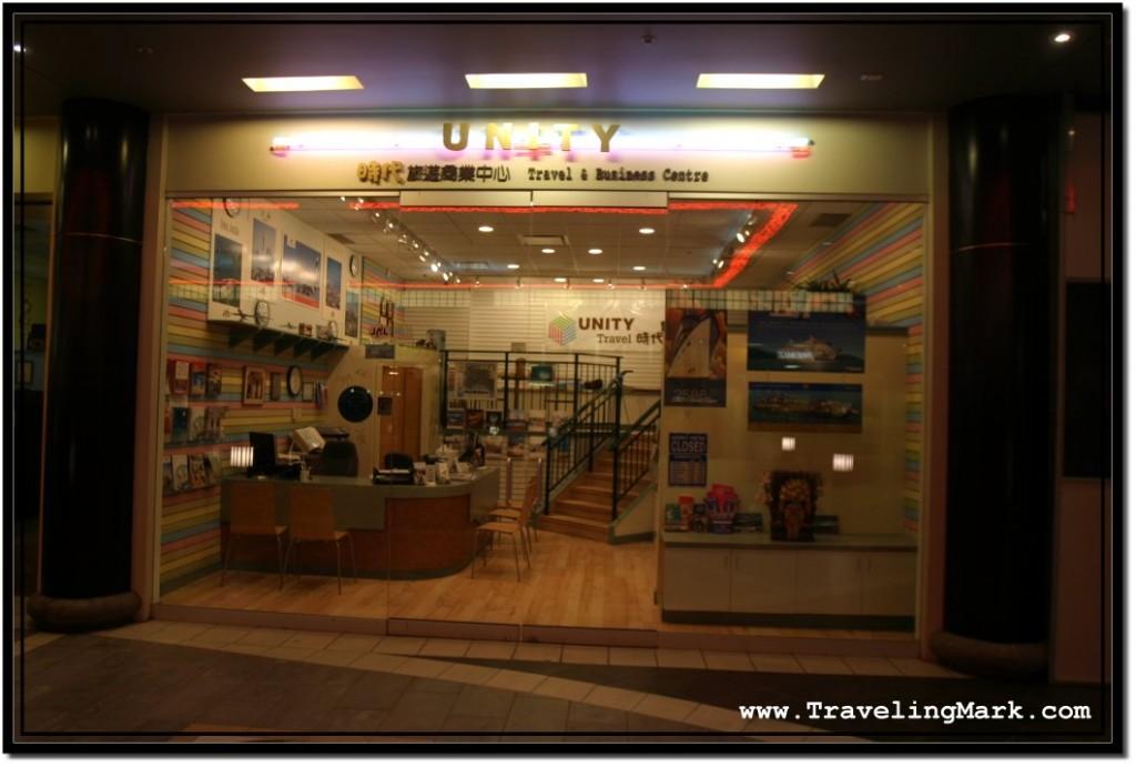 Photo: Unity Travel Office in West Edmonton Mall