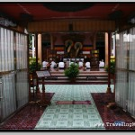 Inside Wat Preah Prom Rath Temple