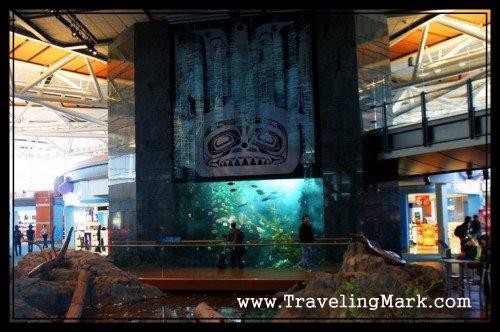 Pretty Fishtank at Vancouver International Airport