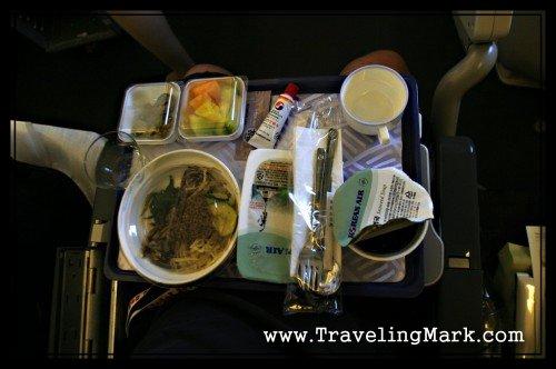 Traditional Korean Dish I Got on Korean Air Plane