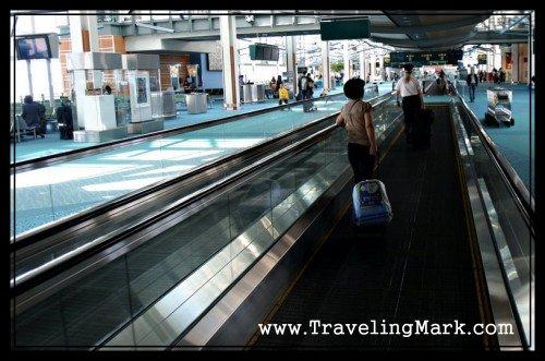 Vast Hallways of Vancouver International Airport