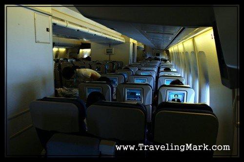 Korean Air Flight - Spacious Plane with Interactive Screens