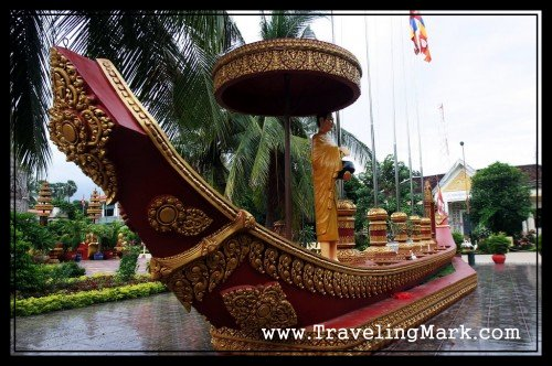 Preah Ang Chang-han Hoy Replica Ship