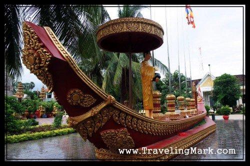 Preah Ang Chang-han Hoy Replica Ship