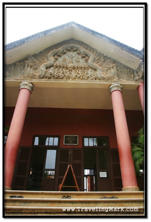 Photo: Entrance to Center for Khmer Studies at Wat Damnak Area