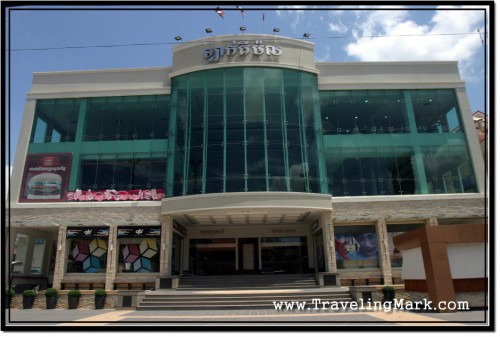Photo: Lucky Mall is Located on Sivatha Boulevard in Siem Reap