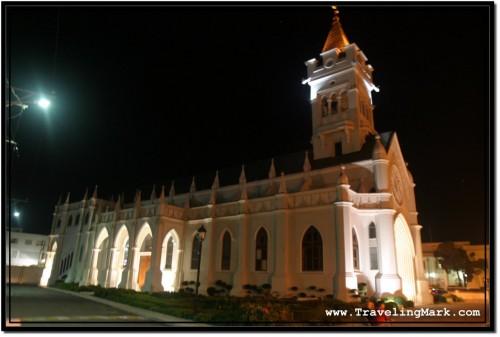 Iglesia San Pedro Apostol - Church Located Not Far from Traffic Circle Where Laptop Thief Flagged Me Down