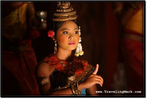 Photo: Finger Movement - the Staple of an Apsara Dance
