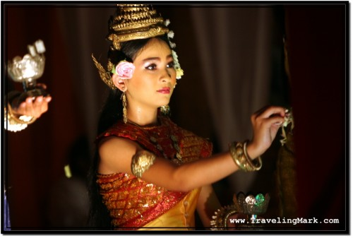 Photo: Apsara Dancer in a Traditional Khmer Dress