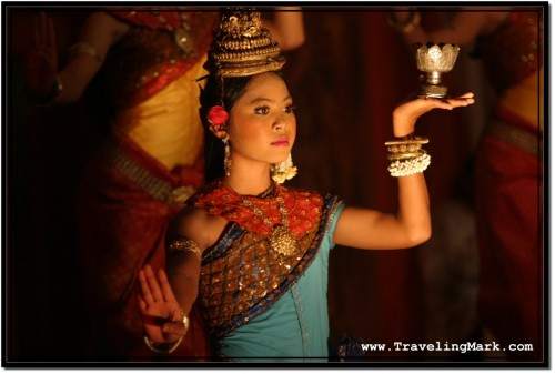 Photo: Apsara Dancer from the Free Show at Temple Club Upstairs