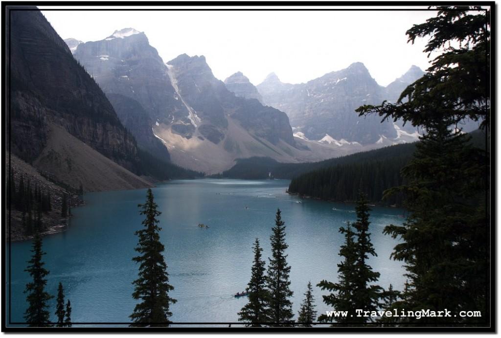Photo: Moraine Lake in Banff National Park
