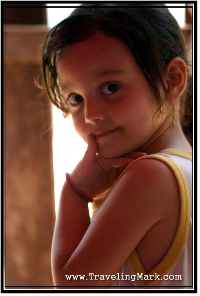 Photo: Cute Little Thinker
