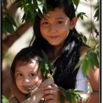 Photo: Hiding Under a Tree to Escape Scorching Cambodian Sun