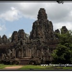 Photo: View of Bayon from the West