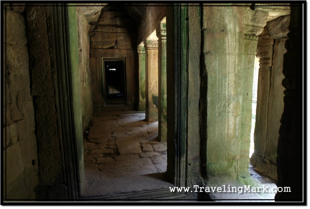 Photo: Bayon Temple of Cambodia with its Endless Hallways