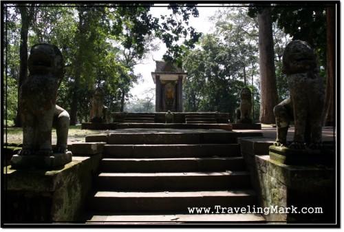 Photo: Vihear Prampil Loveng Terrace Entrance Stairway