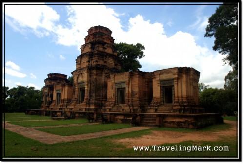 Photo: Prasat Kravan Temple - the Front Face