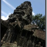 Photo: Corner Towers of Banteay Kdei Resemble the Towers of Angkor Wat