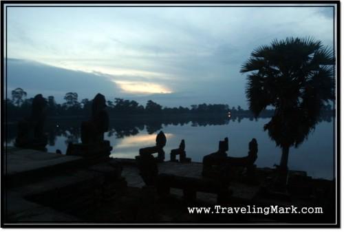 Photo: Sras Srang Before Dawn