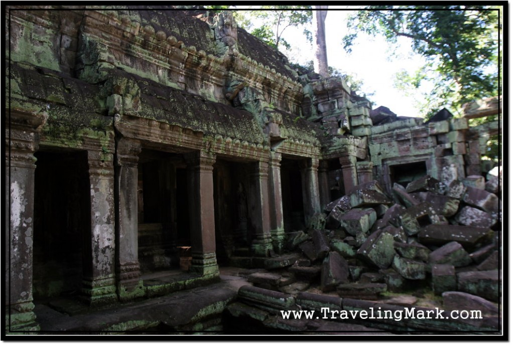 Photo: East Wing of the Ta Prohm Central Sanctuary