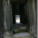Photo: Ta Prohm Central Sanctuary from the Inside