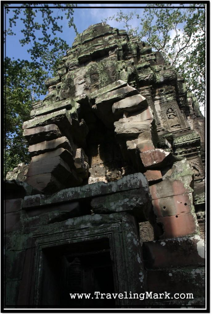 Photo: Ta Prohm Temple Entrance Tower