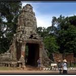 Photo: West Gopura aka Main Entrance to the Ta Prohm Temple