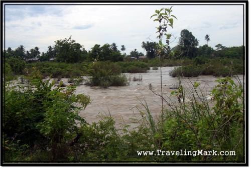 Photo: Mekong River Around Don Det Island, Laos