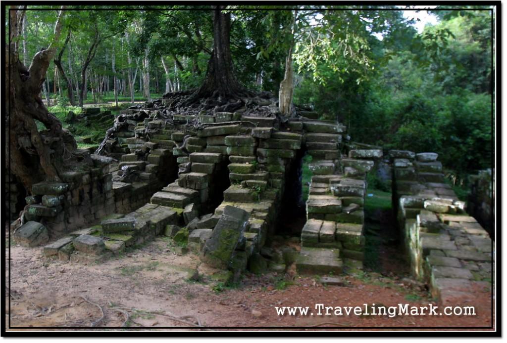 Photo: Spean Thma - Ruins of a Bridge Built by Ancient Khmer Civilzation