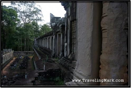Photo: Stone Wall of Ta Keo Temple