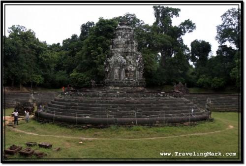 Photo: Neak Pean Central Sanctuary Tower