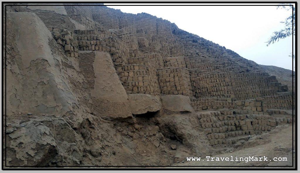 Huaca Pucllana Clay Pyramid in Miraflores