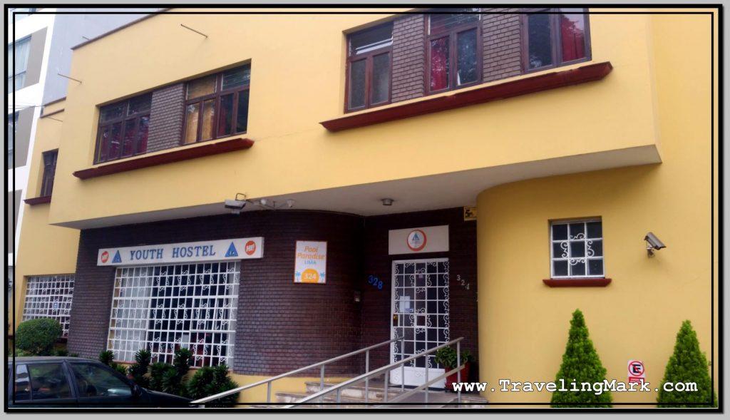 Pool Paradise Hostel in Miraflores, Lima, Peru
