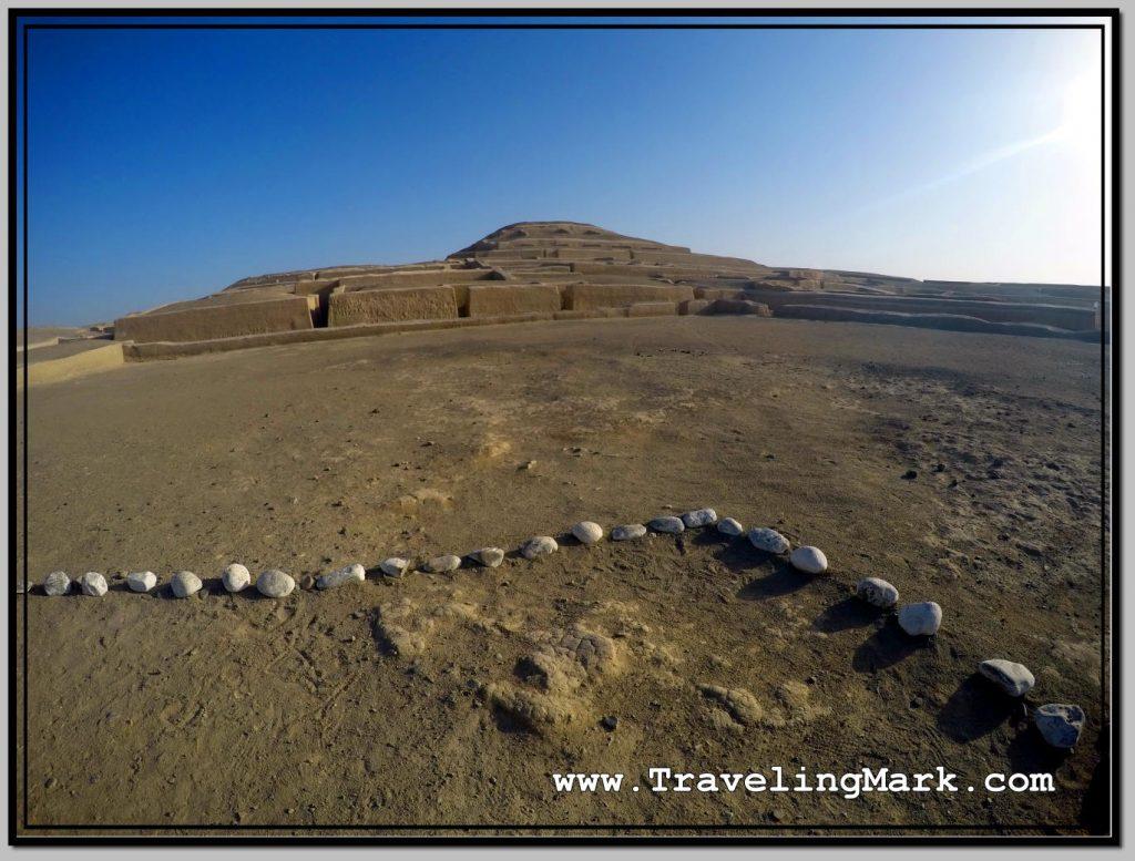 Photo: Gradient Sky Over the Pyramids of Cahuachi