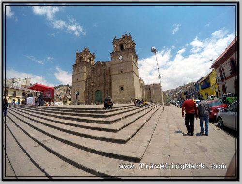 Photo: Iglesia de San Carlos Borromeo in Puno