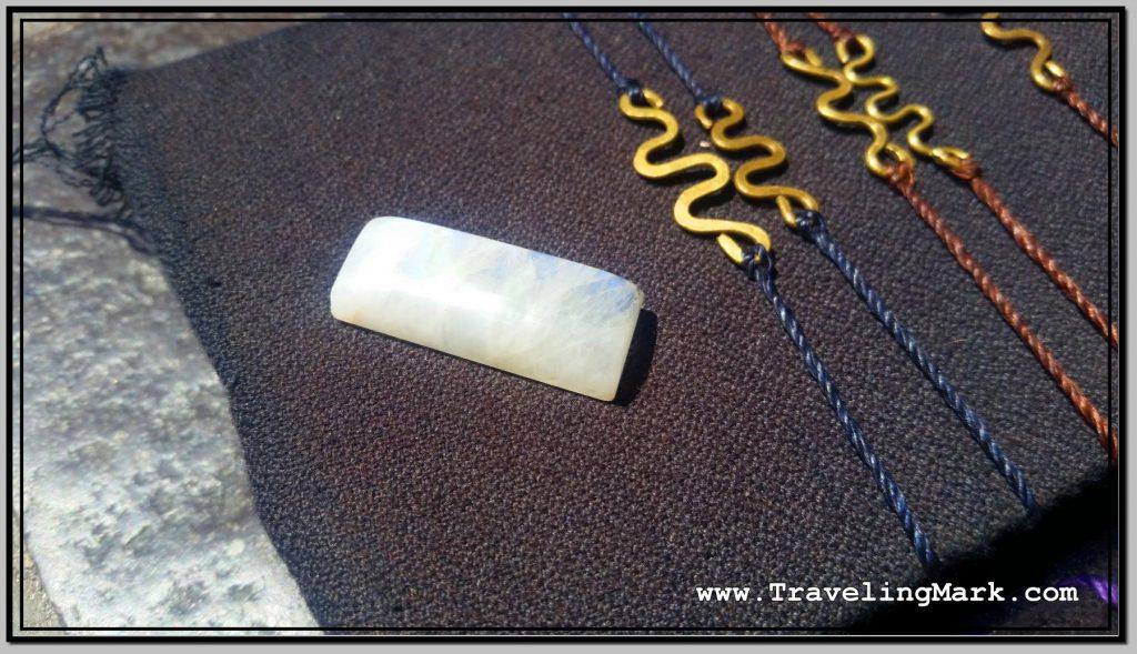 Photo: Rare Moonstone Crystal from India