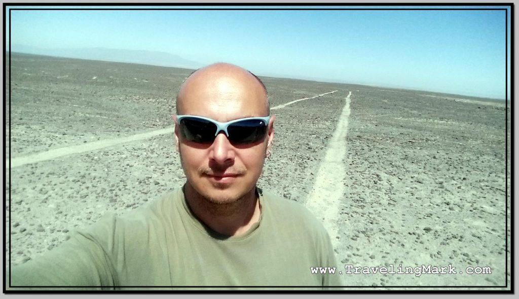Photo: Selfie at Nazca Runways