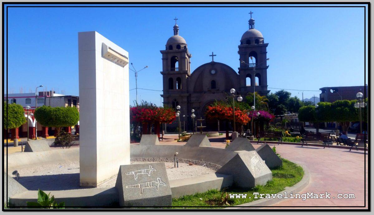 Photo: Plaza de Armas in Palpa