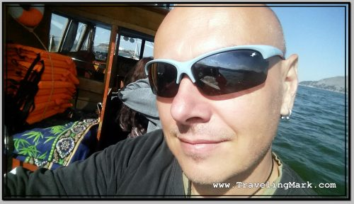 Photo: Selfie from Boat Ride to Uros Islands