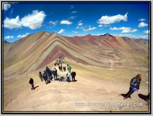 Photo: Climb Up the Rainbow Mountain - What an Experience