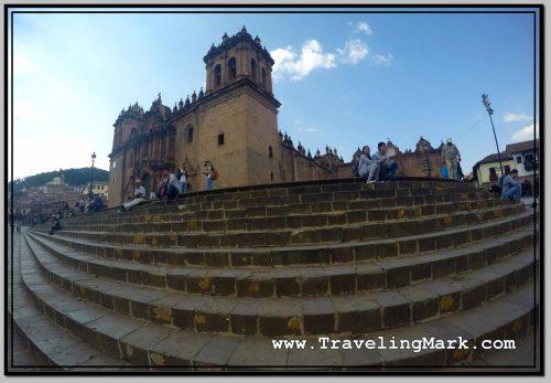 Photo: Wide Angle Shot of La Catedral del Cusco