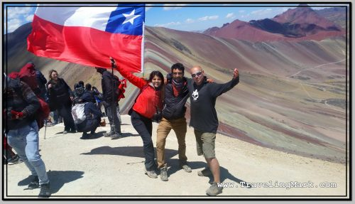Photo: On Top with Chilean Couple
