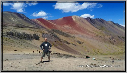 Photo: Red Valley Is Adjacent to the Rainbow Mountain