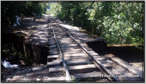 Photo: Hiker to Aguas Calientes Will Have to Walk on Train Tracks Because of Passes Over Creeks Like This One