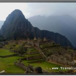 Photo: Huayna Picchu Peak in Front of Gloomy Clouds