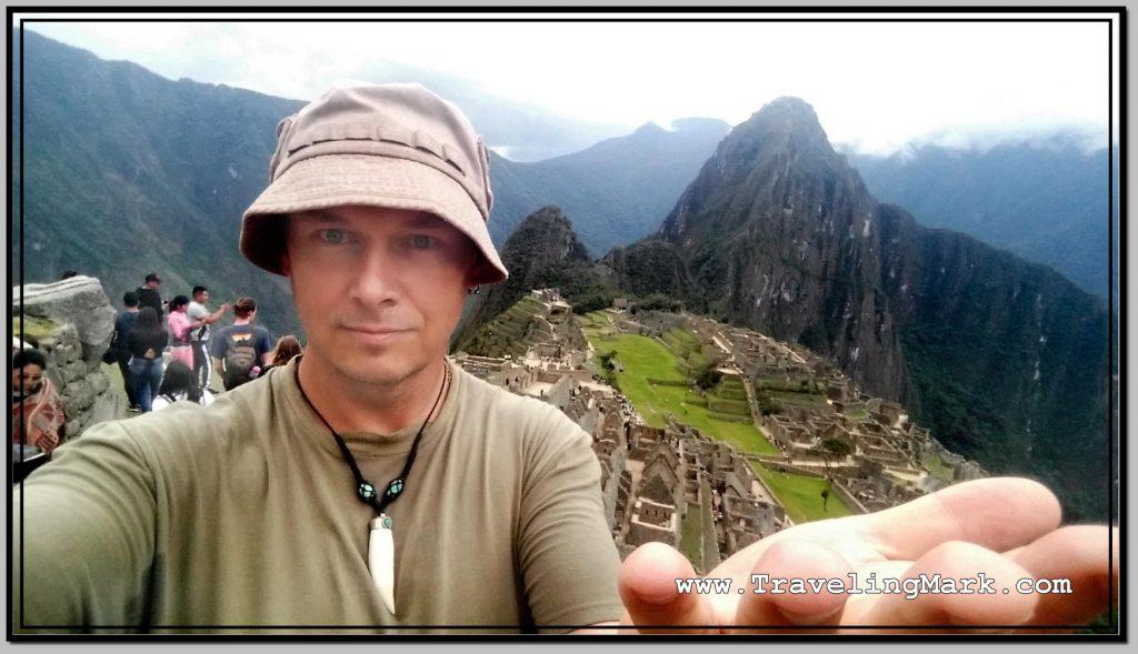 Photo: Machu Picchu on My Palm