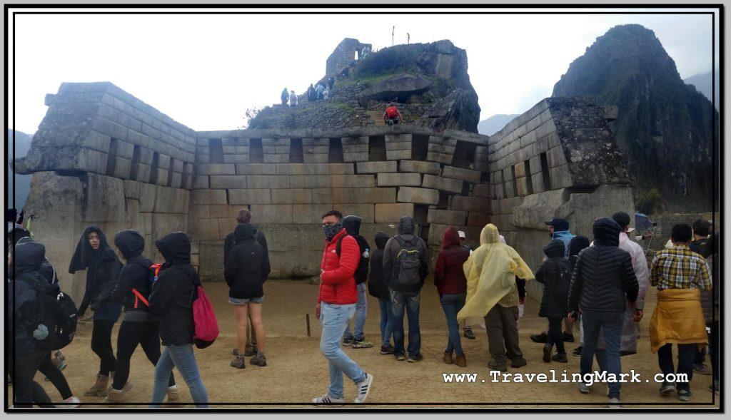 Photo: Machu Picchu Main Temple (Templo Principal)