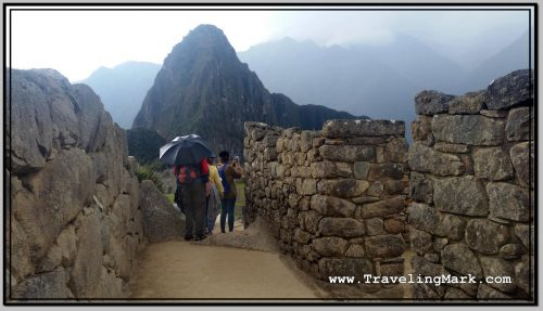 Photo: Exploring Machu Picchu in Rain