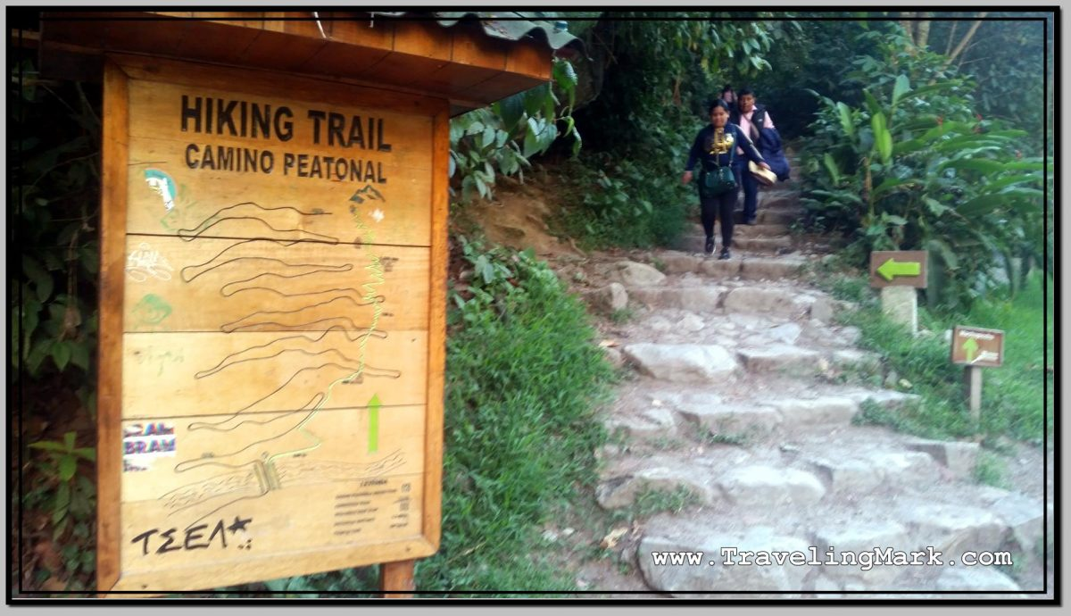 Hiking to Machu Picchu from Aguas Calientes