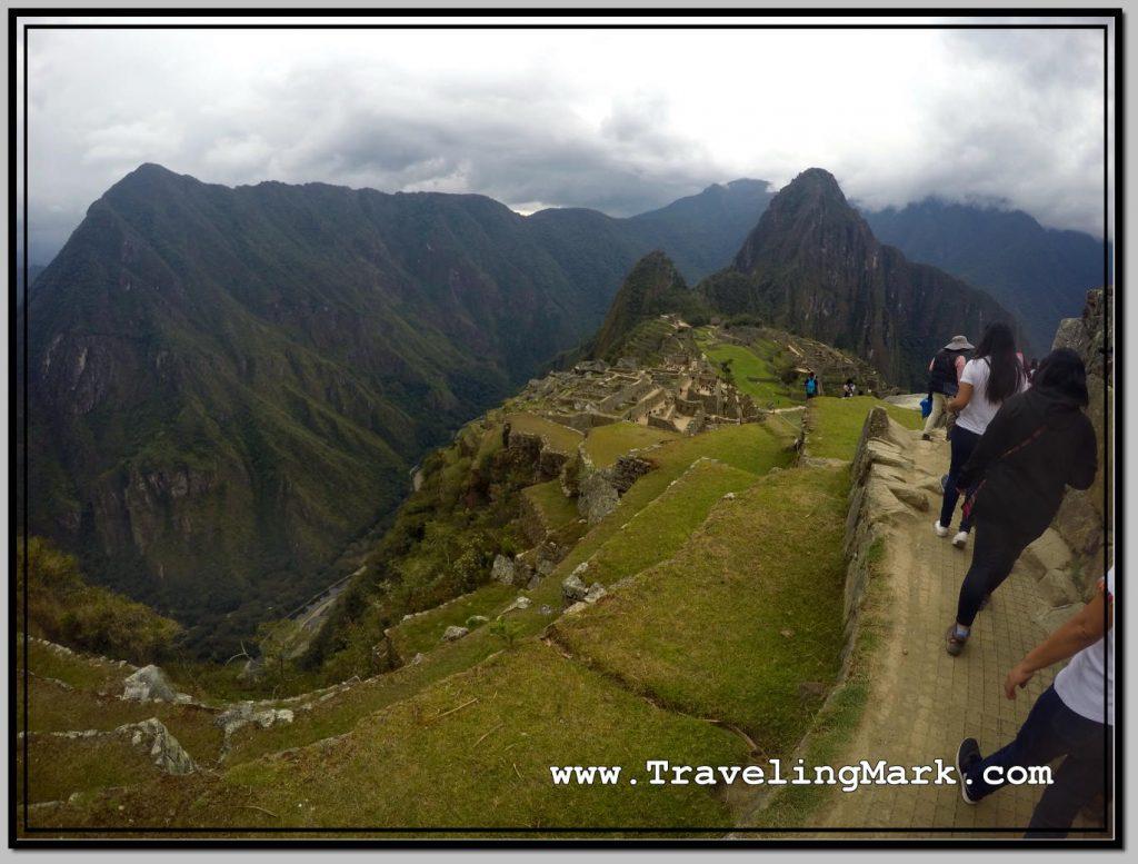 Photo: This Walkway Leads to Inca Bridge